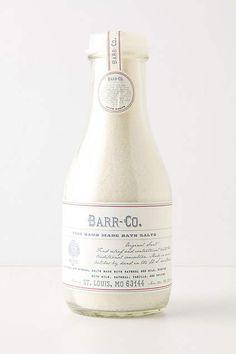 Barr-Co. Fine Handmade Bath Salts - anthropologie.com