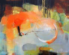 «Out of newhere» Akryl på lerret - 150x120 cm Kunstner - Ira Ivanova