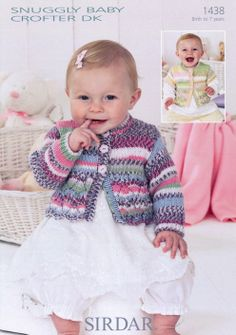 Sirdar--Cardigans (birth - age 7) - how cute is this one!
