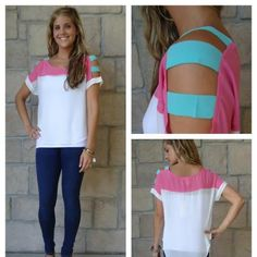 Ive been revamping plain tees this week and will be certainly adding this idea to my collection.