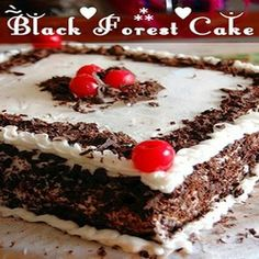 Black Forest Cake to India IGPC008
