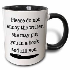 This mug to put in front of your laptop at any given time: | Community Post: 18 Perfect Products Every Writer Will Want Immediately