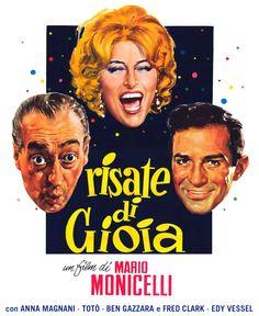 Risate di gioia 1960 di Mario Monicelli con Totò, Anna Magnani, Ben Gazzara e Fred Clark.