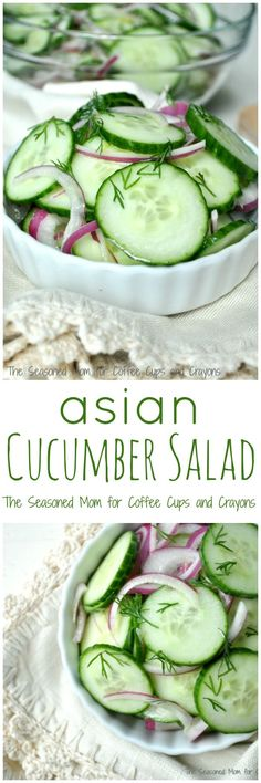 Asian Cucumber Salad is fast, healthy, and 100% kid-approved!