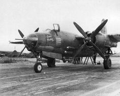 B-26B-35-MA Marauder 41-31984 'Good Buddie' 554th BS. 386th BG. 1943.