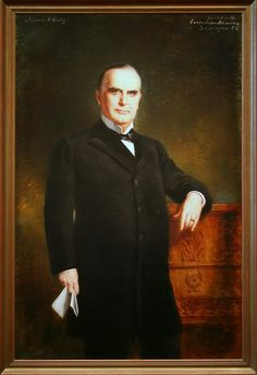 William McKinley, Twenty-fifth President This paint in by…