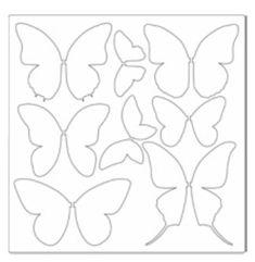 Plantilla Mariposas