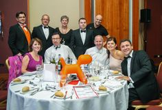 David Gilroy and guests (including our own Dan Hodges) at a table he hosted at the 2014 360 Legal Group Awards.