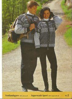 Gjestal hefte 92 modell 2 Knit Jacket, Baby Sweaters, Jumpers, Vests, Couple Photos, Knitting, Jackets, Inspiration, Men