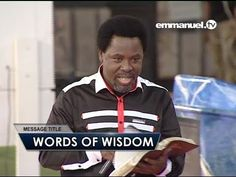 Words of Wisdom - T.B. Joshua - YouTube T B Joshua, Prayers For Healing, Motorcycle Jacket, Adidas Jacket, Bible, Wisdom, Words, Youtube, Biblia