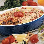 Roasted Vegetable Ziti Bake Recipe at Cooking.com