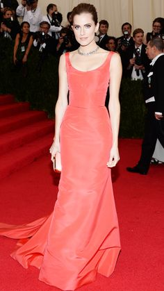 2014 Met Gala Red Carpet - Allison Williams from #InStyle
