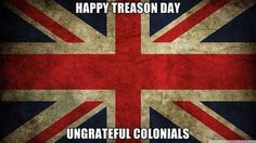 July 4th through England's eyes