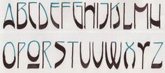 Margaret Shepherd: Calligraphy Blog: 274 Nouveau D-2
