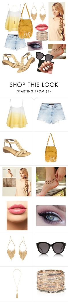 """""""It's summer, darling!!"""" by thinkfierce ❤ liked on Polyvore featuring WithChic, Alexander Wang, The Flexx, Antonella Romano, Hershesons, NOVICA, LASplash, Ross-Simons, CÉLINE and BCBGMAXAZRIA"""