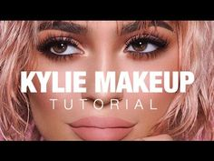 Today I'm sharing a makeup tutorial inspired by one of my favorite Kylie Jenner makeup looks, by the incredible makeup artist, MakeUpByAriel. Kylie Jenner Makeup Look, Kylie Jenner Makeup Tutorial, Makeup Tutorial 2017, Kylie Jenner Lips, Makeup Tutorials, Eye Makeup Tips, Makeup Blog, Smokey Eye Makeup, Matte Makeup