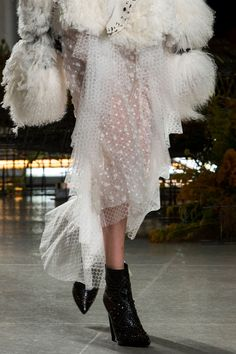 FOR THE BRIDE FROM THE RUNWAY || NOVELA BRIDE...In love with Rodarte SS17 || Where the modern romantics play & plan the most stylish weddings... www.novelabride.com @novelabride #jointheclique