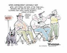 Jeff Danziger Editorial Cartoon, November 05, 2016     on GoComics.com