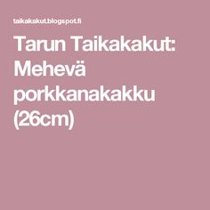 Tarun Taikakakut: Mehevä porkkanakakku (26cm) Cakes, Cake Makers, Kuchen, Cake, Pastries, Cookies, Torte, Layer Cakes, Pies