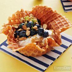 Blueberry & Yogurt Parfaits