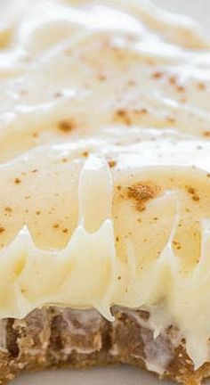 Cinnamon Roll Bars with Cream Cheese Frosting More