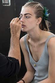Monique Lhuillier - Backstage