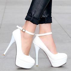 ENMAYER2014 fashion single shoes high-heeled platform thin heels shoes princess high-heeled shoes women shoes large size 34-43 $60.66 - 64.66
