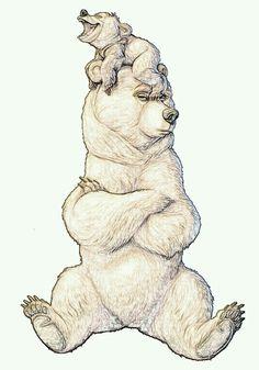 Tierra de osos #ilustracion