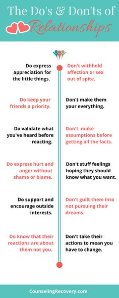 Healthy relationships take work but here are some helpful tips to keep it healthy and loving!