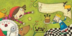 THE GREAT NURSERY RHYME DISASTER | Melanie Williamson Illustration