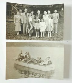 2 RPPC Family Camp Gathering on Lake Boat VT NH Unused