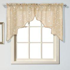 United Curtain Co. Savannah Swag Curtain Pair - 51'' x 38'',
