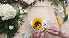 Sunflower Bridal Bou