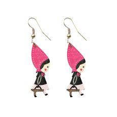Tummat pinkit punahilkkakorvikset Drop Earrings, Jewelry, Jewlery, Bijoux, Schmuck, Drop Earring, Jewerly, Jewels, Jewelery