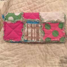 "Patchwork wallet 7.5"" x 4"" patchwork wallet. Super cute! no trades Bags Wallets"