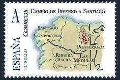 Camino de Invierno a Santiago de Compostela #CaminodeSantiago