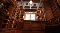 Home Office Walnut Furniture by Jim Cardon Study Office, Home Office, Walnut Furniture, Entertainment Center, Woodworking Projects, Cabin, Jr, House Styles, Building