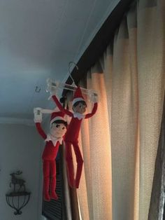 Hottest Pictures Creative Elf on the Shelf ideas from LI parents Our elves, S. Strategies Creative Elf on the Shelf ideas from LI parents Our elves, Sam and Elliot, are Christmas Activities, Christmas Traditions, Christmas Games, Awesome Elf On The Shelf Ideas, Elf On The Shelf Ideas For Toddlers, Elf Auf Dem Regal, Elf Magic, Elf On The Self, Naughty Elf