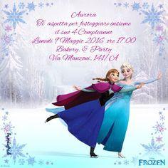 Frozen inviti