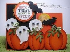 "Stampin Up Punch Art Ideas | Stampin Up Halloween Punch Arts | Stampin' Up! ""Build A Owl"" Punch ... by bethany"