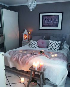 Master bedroom design, Solid Home Decorating Advice To Produce Your Interior Decorating Be Noticeable Bedroom Themes, Teen Bedroom, Home Bedroom, Bedroom Ideas, Girl Bedrooms, Bedroom Inspo, Master Bedroom, Dream Rooms, Dream Bedroom