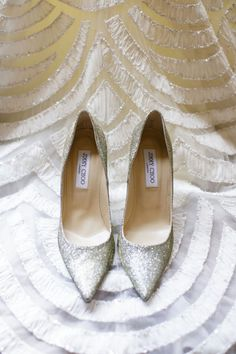 The Wedding Scoop Spotlight: Bridal Shoes - Part 1