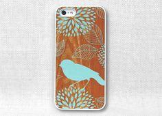 iPhone 5 Case, iPhone 4 Case, iPhone 4S Case, iPhone Case  - Bird on Wood - 171. $15.00, via Etsy.
