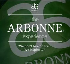 The Arbonne Experience.  \