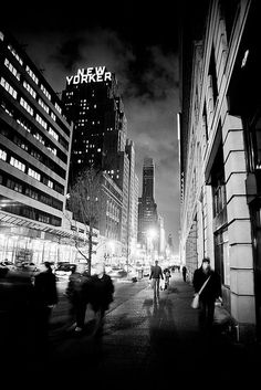 The New Yorker in black and white | Nadia Hung on Flickr, January 2011