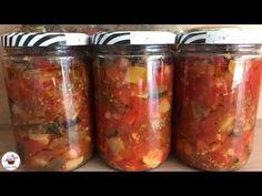 Kavanozda Kızartma Tarifi Üstelik Kızartmadan🔝Kış Hazırlıkları❗️ - YouTube Pasta, Diy And Crafts, Muffin, Yummy Food, Jar, Recipes, Eggplants, Delicious Food, Muffins