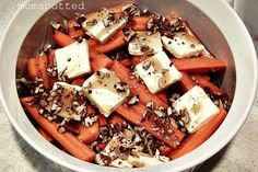 #Recipe Candied Pecan Carrots #Thanksgiving #Dinner