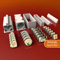 Sushi Maker Set by MEH4d.