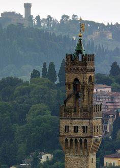 Palazzo Vecchio Tower ( 1302 ), Florence