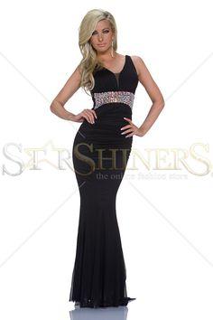 Divine Girl Black Dress